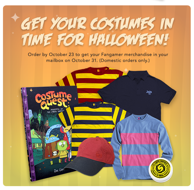 The Halloween Countdown begins now at Fangamer.com