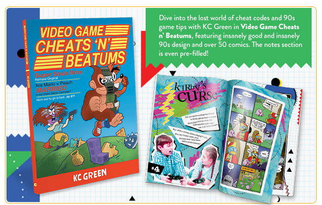 KC Green's Cheats n' Beatums Book at Fangamer.com