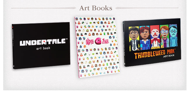 Art Book Collection at Fangamer.com
