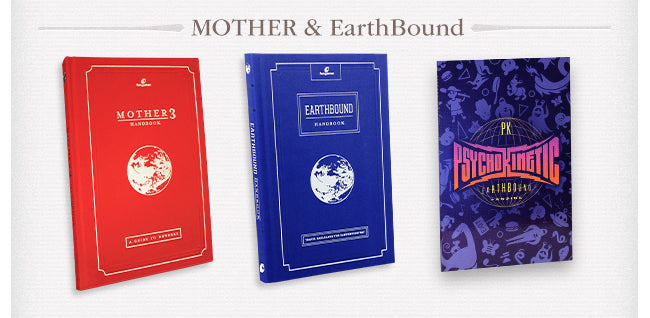 Mother and EarthBound Book Collection at Fangamer.com