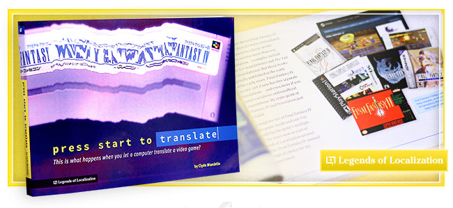 Press Start to Translate Book at Fangamer.com