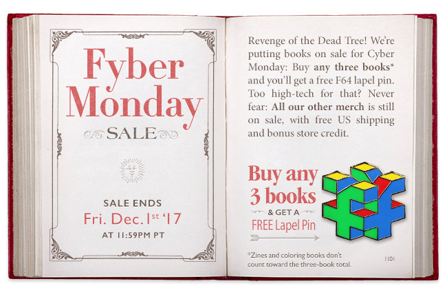 Fyber Monday Sale at Fangamer.com