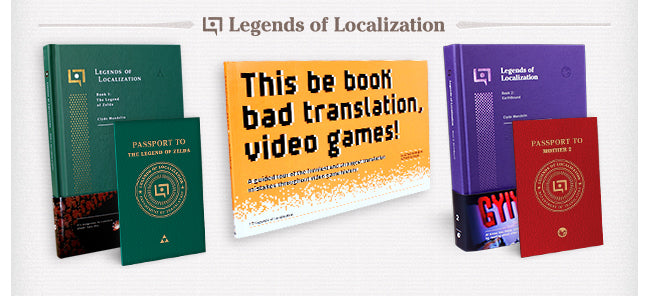 Legends of Localization Book Collection at Fangamer.com