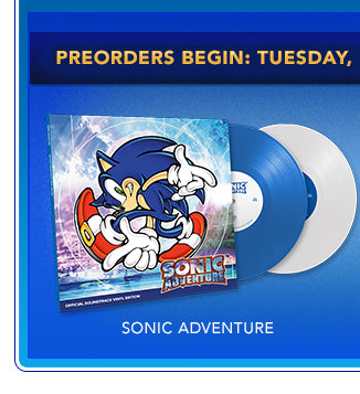 Sonic Adventure Vinyl Box Set at Fangamer.com