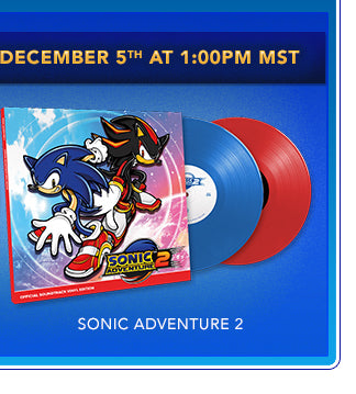 Sonic Adventure 2 Vinyl Box Set at Fangamer.com