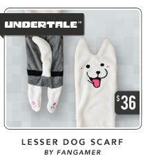 Undertale Lesser Dog Scarf