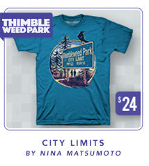 Thimbleweed Park City Limits Shirt
