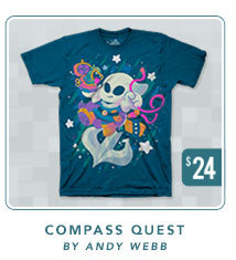 Flinthook Compass Quest Shirt