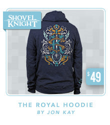 Shovel Knight The Royal Hoodie