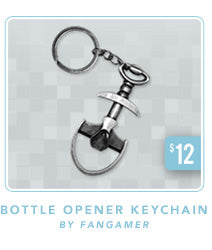 Shovel Knight Bottle Opener Keychain
