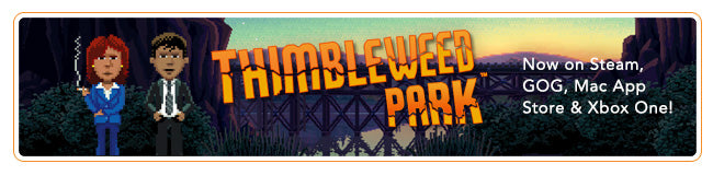 Thimbleweed Park Collection at Fangamer