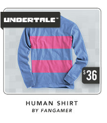 Undertale Human Shirt