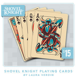 Shovel Knight Playing Cards™