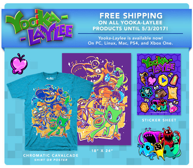New Yooke Laylee Merch at Fangamer