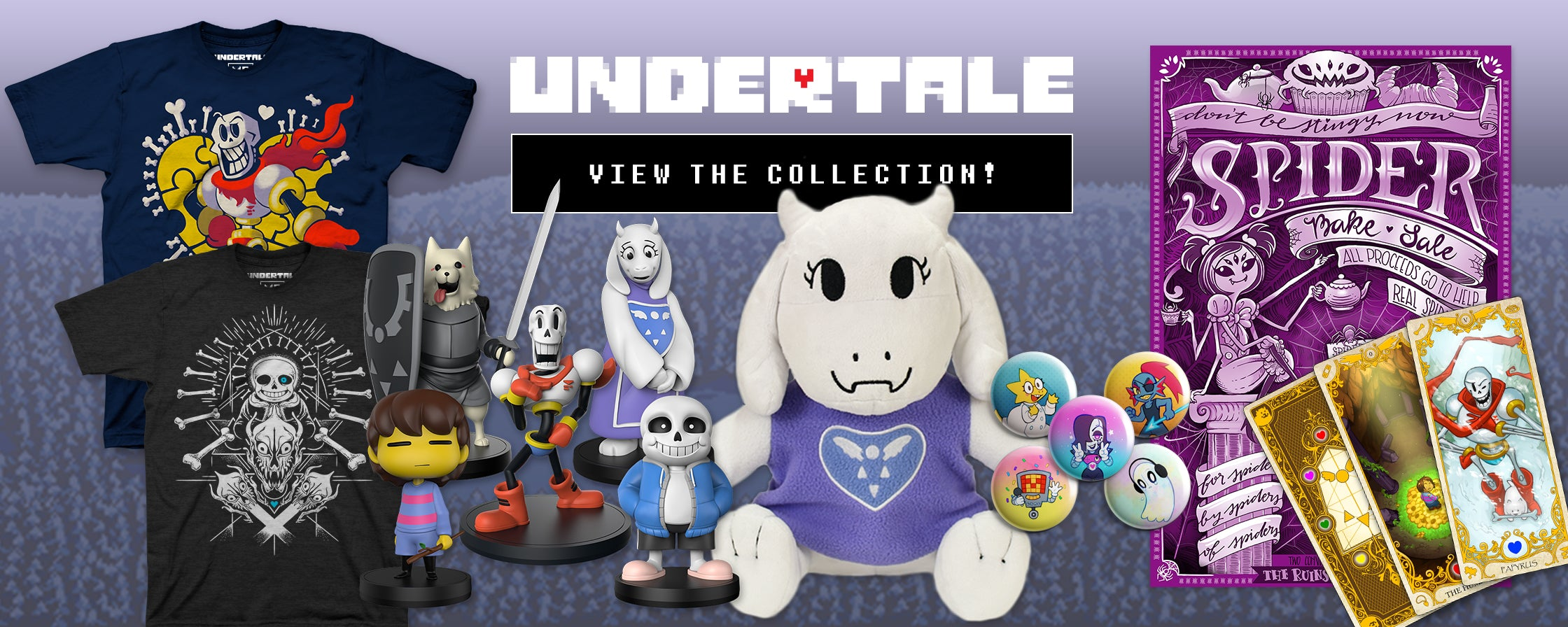 official undertale merchandise now up for preorder neogaf