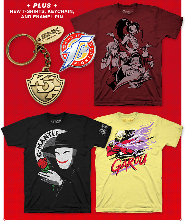 New SNK Merchandise at Fangamer.com
