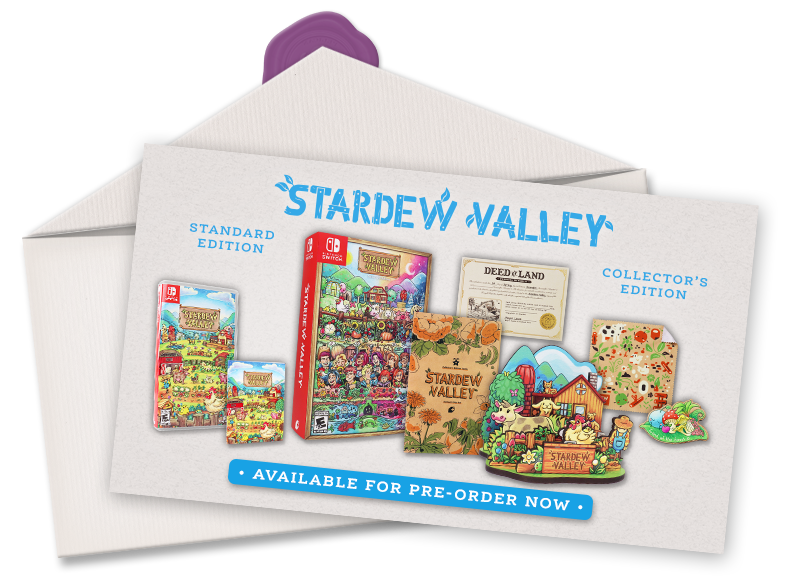 Stardew Valley Collector's Edition for Nintendo Switch™ and PC