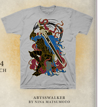 Dark Souls Abysswalker Shirt at Fangamer.com