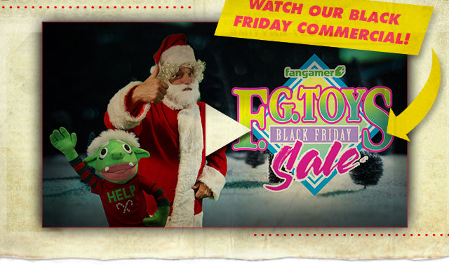 Fangamer.com presents our Black Friday Commercial. Watch it Here!