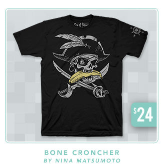 Sea of Thieves Bone Croncher Shirt Now Restocked at Fangamer.com