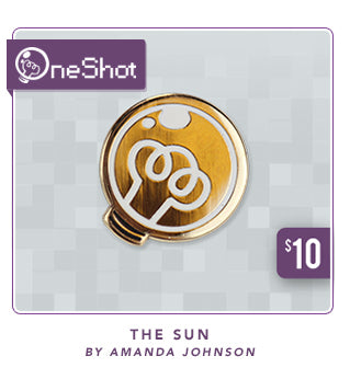 New One Shot The Sun Pin at Fangamer.com