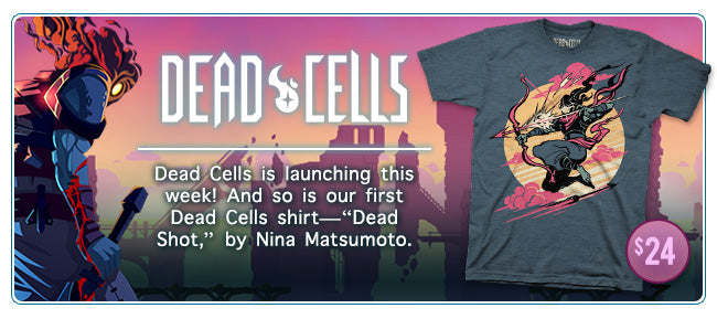 New Dead Cells Merchandise Available at Fangamer.com and Other Locations
