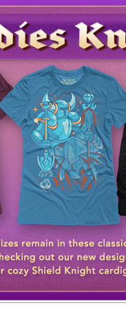 Ladies Knight Promotion at Fangamer.com