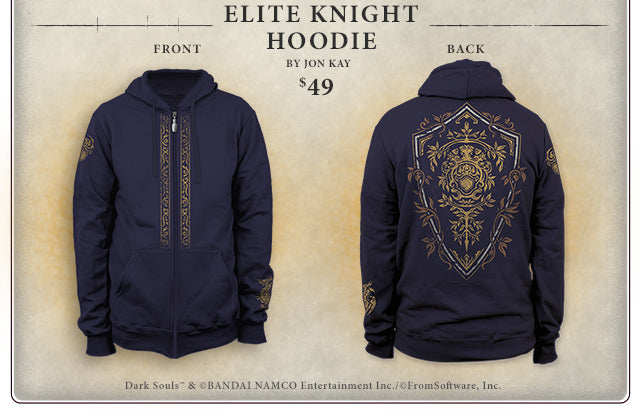 Dark Souls Elite Knight Hoodie at Fangamer.com