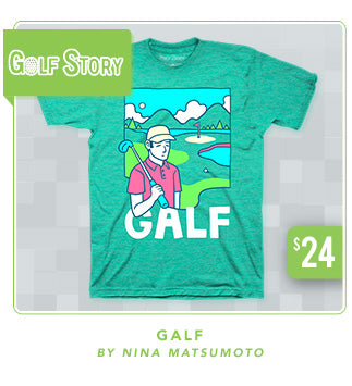 Golf Story Galf Shirt Now Restocked at Fangamer.com