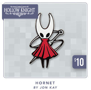 New Hollow Knight Hornet Pin at Fangamer.com