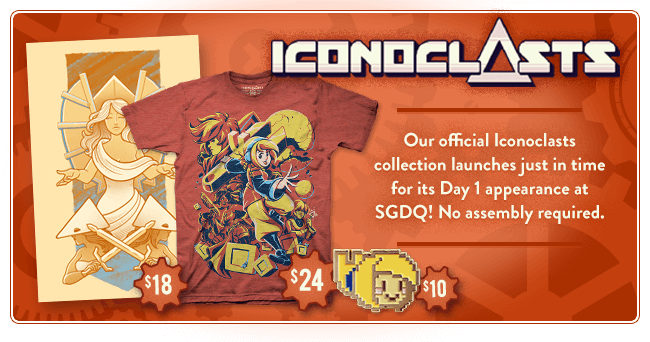 Iconoclasts Merchandise at Fangamer.com