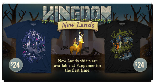 New Kingdom New Lands Merchandise Available at Fangamer.com and Other Locations