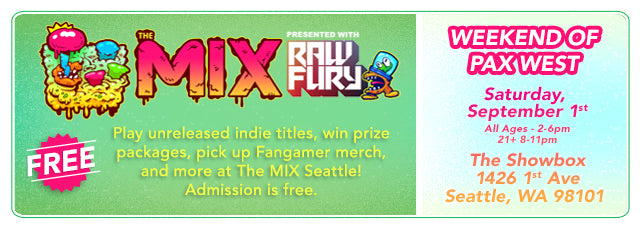 Join Fangamer at The Mix Party During PAX West!