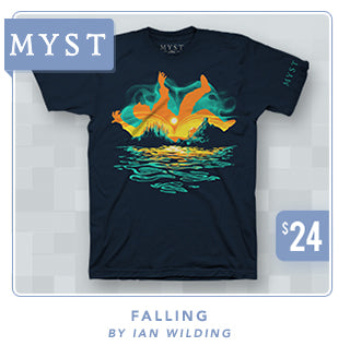 New Myst Falling Shirt at Fangamer.com