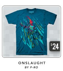 Undertale Onslaught Shirt