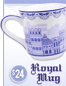 Undertale Royal Mug at Fangamer.com