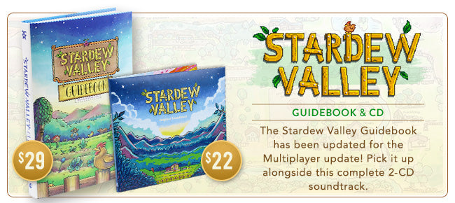 Updated Stardew Valley Guidebook at Fangamer.com