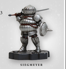 Dark Souls Siegmeyer Figurine at Fangamer.com