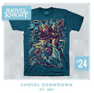 New Shovel Knight Shovel Showdown Shirt at Fangamer.com