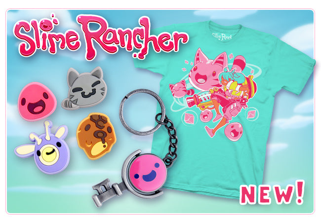 New Slime Rancher Merchandise at Fangamer.com