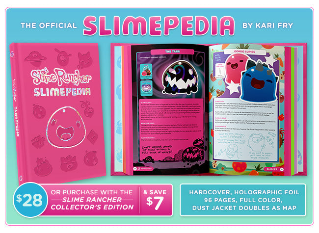 Slime Rancher Slimepedia Available at Fangamer.com