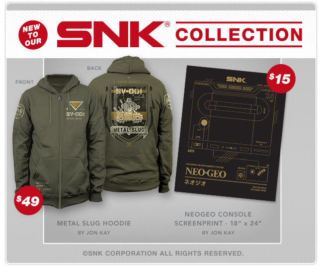 SNK Collection at Fangamer.com