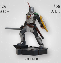 Dark Souls Solaire Figurine at Fangamer.com