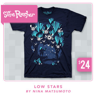 Slime Rancher Low Stars Shirt Now at Fangamer.com