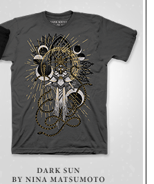 Dark Souls Dark Sun Shirt at Fangamer.com