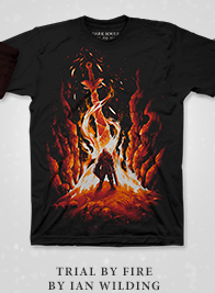 Dark Souls Trial by Fire Shirt at Fangamer.com