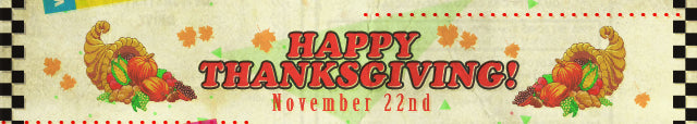 Happy Thanksgiving from Fangamer.com