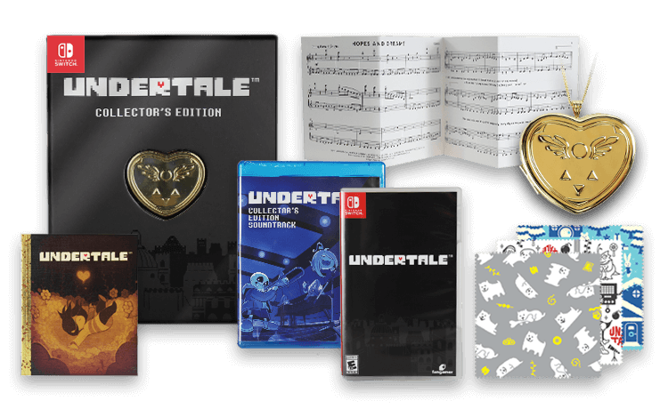 UNDERTALE Game Physical & Collector's Editions