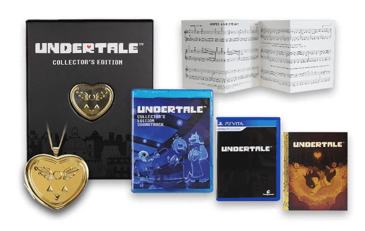 UNDERTALE Game Physical & Collector's Editions - Fangamer