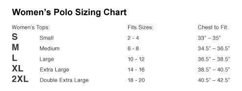 Merchandise Sizing And Information Fangamer